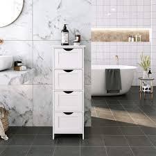 vasagle badkommode lhc40w badezimmerschrank badschrank weiß kaufen otto