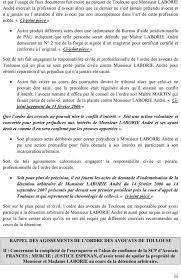 bureau d aide juridictionnelle marseille assignation en responsabilite civile et professionnelle devant le