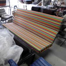 Eames Sofa Compact Used by Eames Sofa Compact Miller Stripe 訳あり品