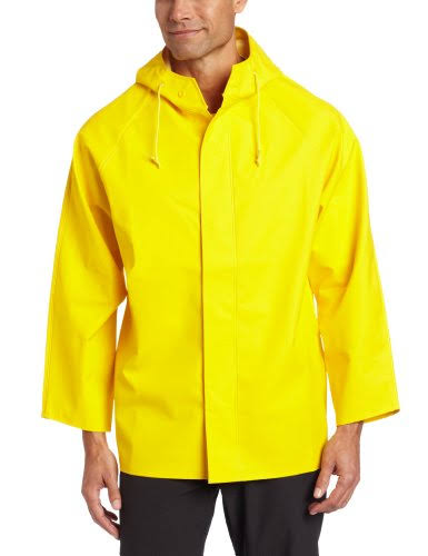 Dutch Harbor Men's Quinault Rain Jacket - Yellow M1670495