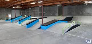 100 Truck Stop Skatepark California S Builds Nyjah Hustons Private Training