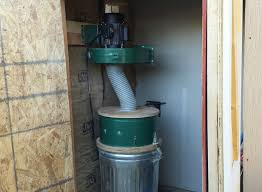 Dust Collector Floor Sweep by Installing My Harbor Freight Dust Collector Finally Youtube