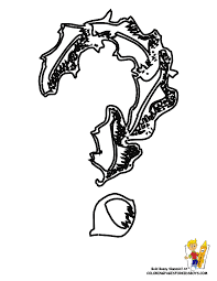 Coloring Book Question Mark Alphabet Symbol For Colouring