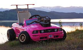 This Combination Of Barbie Car And Go-Kart Can Reach 70 MPH - The Drive This Combination Of Barbie Car And Gokart Can Reach 70 Mph The Drive Mini Monster Truck Go Kart Blueprints Best Resource For Sale Carter Brothers Grave Digger A In Shropshire Weekday Only Experience Days Mini Monster Truck Gokart Youtube 2015 Dfm Brand New 200cc X Jaguar 4 Stroke Frankfort Il Motorhome Mashup Part 2 Wheels Cars Karts Review 2018 Kids Adult Fast But Not Furious Arrow Smart Electric Is A Tesla Nineyearolds Gas Monkey Garage Commander Cody Race Cheap