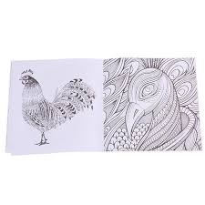 Fashion New Secret Garden Bird Magic Mirror Coloring Book Of Adults Kids Gift Z