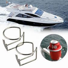 100 Truck Cup Holder 2Pcs New Hot Car Ring Stainless Steel Water Drink