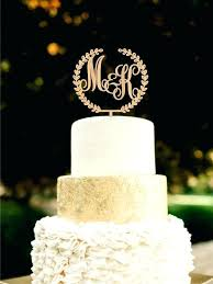 Browning Symbol Cake Topper Custom Monogram Wedding Initial By More Toppers Etsy