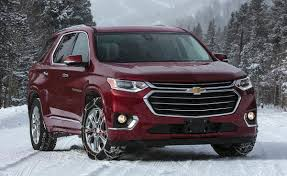 100 Traverse Truck 2018 Chevrolet Red Front Right Quarter Photos 2018