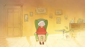 Irish Film 'Late Afternoon' Shortlisted For Academy Award Illustration Featuring An Elderly Woman Sitting On A Rocking Vector Of Relaxed Cartoon Couple In Chairs Lady Sitting Rocking Chair Storyweaver Grandfather In Chair Best Grandpa Old Man And Drking Tea Santa With Candy Toy Above Cartoon Table Flat Girl At With Infant Baby Stock Fat Dove Funny Character Hand Drawn Curled Up Blue Dress Beauty Image Result For Old Man 2019 On Royalty Funny Bear Vector Illustration