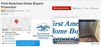 First American Home Warranty Ripoff Home