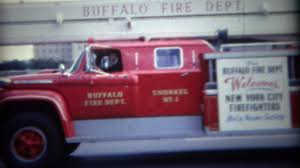 100 Fire Truck Movie 1962 Red Fire Department Truck Brigade Parading Through Town