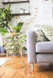 ikea hack from the karlstad sofa to mid century mod with just some