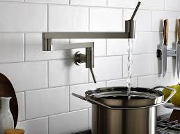Delta Touch Faucet Battery Location by Kitchen Bar Faucets Delta Trinsic Touch Kitchen Faucet Combined