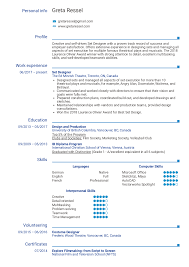 Resume Examples By Real People: Set Designer Resume Template ... Download Free Resume Templates Singapore Style 010 Professional Template Examples Example Inspirational Electrical Engineer Writing Tips Genius Stylist And Luxury Simple Layout 10 Basic Blank 2019 Pdf And Word Downloads Guides Sample Key Account Manager New Resume Format For Fresh Graduates Onepage 003 Ideas Skills Based Customer Service Representative Samples Data Entry Sample A Classic Computer List For Rumes Functional Complete Guide