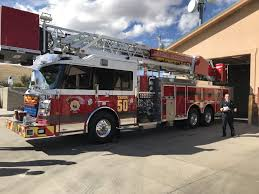 Central Arizona Fire And Medical Authority Debuts New Ladder Truck ...