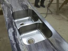 Karran Undermount Bathroom Sinks by Karran Stainless Steel Undermount Sink Bowl Ogee Ideal Edge