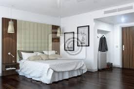 ein modernes hotelzimmer schlafzimmer bilder myloview