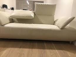 koinor 2 2 5 volare leder sofa beige