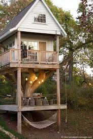 I Wanted A Tree House SO Badly As Kid But None Of The Trees In Our Back Yard Could Support One If Im Ever Lucky Enough To Have Kids