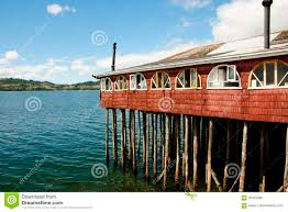 100 Houses In Chile Stilt House Castro Stock Photo Image Of Chile Houses