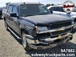 100 Utility Truck Parts Used 2004 Chevrolet Avalanche 53L 4x4 Subway
