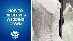 how to preserve and box a wedding dress feat omaha lace cleaners
