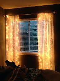 light up curtains just string 2 strands of lights up and