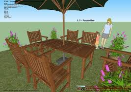 free plans for outside furniture best 25 outdoor table plans