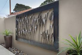 Exterior Wall Decor 8 Image Of Famous Outdoor Metal Art