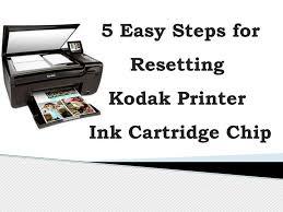 5 Easy Steps For Resetting Kodak Printer Ink Cartridge Chip