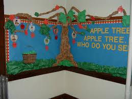 Kindergarten Pumpkin Patch Bulletin Board by Apple Tree Bulletin Board Class Pinterest Tree