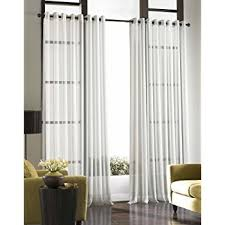 120 Inch Long Sheer Curtain Panels by Amazon Com Stylemaster Elegance 60 By 120 Inch Sheer Voile Panel