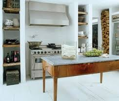 Marble Topped Kitchen Island Via Ingrid Del Valle Brouwer