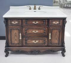 marseille antique bathroom vanity set