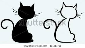 cat silhouette black cat silhouette stock images royalty free images vectors