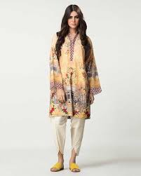 Latest Winter Shirt Designs By Pakistani Designers 2018