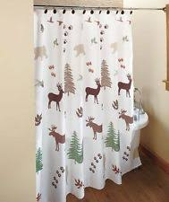 Unbranded Lodge Shower Curtains