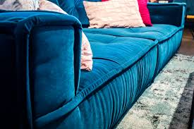 petrol blue velvet sofa caseconrad