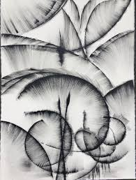 Black And White Abstract Drawing 2