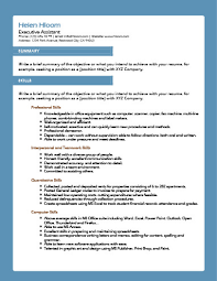 Skys The Limit Resume Template