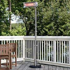 Fire Sense Deluxe Patio Heater Stainless Steel by Fire Sense Patio Heater Ebay