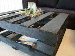 Extra Large Square Pallet Coffee Table Painted With Storage White Diy Ideas On Budget