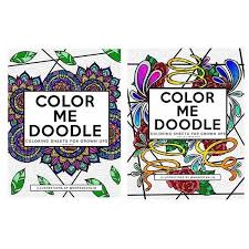Color Me Doodle Coloring Sheets For Grown Ups Swirls And Strokes PH