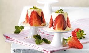 erdbeer joghurt bavarois