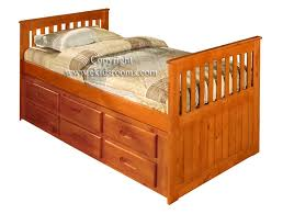 twin captains bed with storage captains bed design ideas