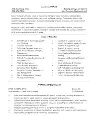 Resume Sample For Bank Assistant Manager Retail Samples