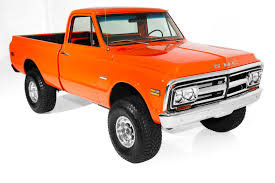 100 1970 Gmc Truck For Sale Chevrolet Pickup K10 4WD 4Speed GMC Trim
