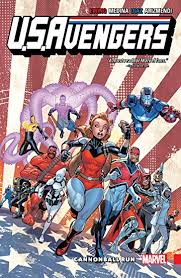 USAvengers Vol 2 Cannonball Run
