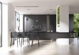 kitchen designs light black kitchen light filled black benches