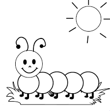 Fancy Caterpillar Pictures To Color 64 For Your Seasonal Colouring Pages With